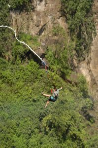 Near death experiences - Zimbabwe/Zambia (bungee jump - the never ending fall)
