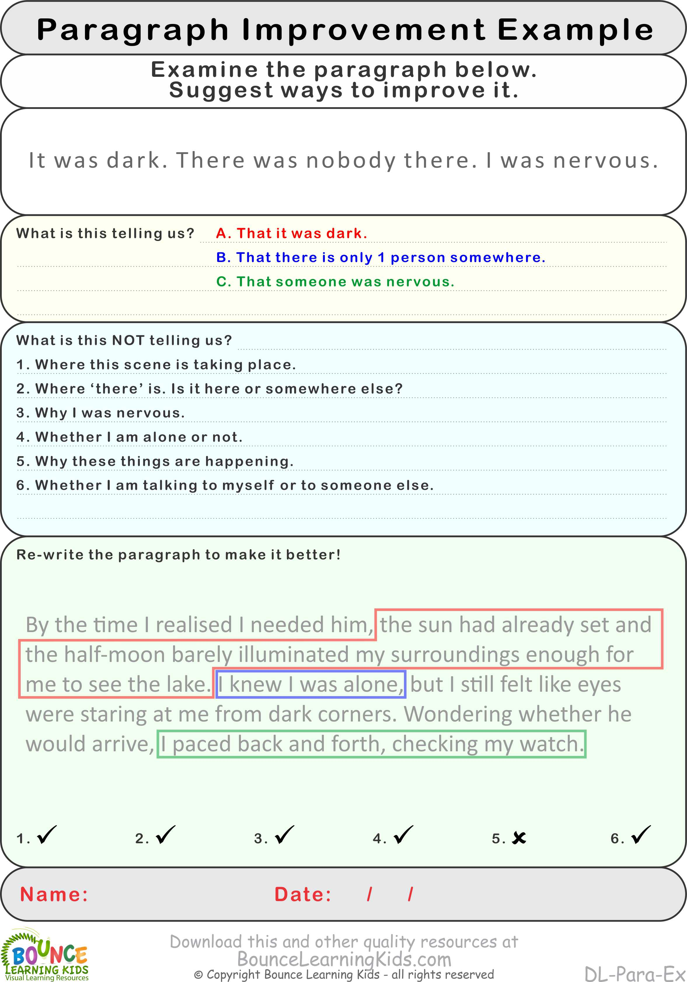 Improve Paragraph