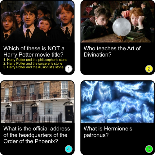 Think you can answer these easy Harry Potter questions? Click to enter!