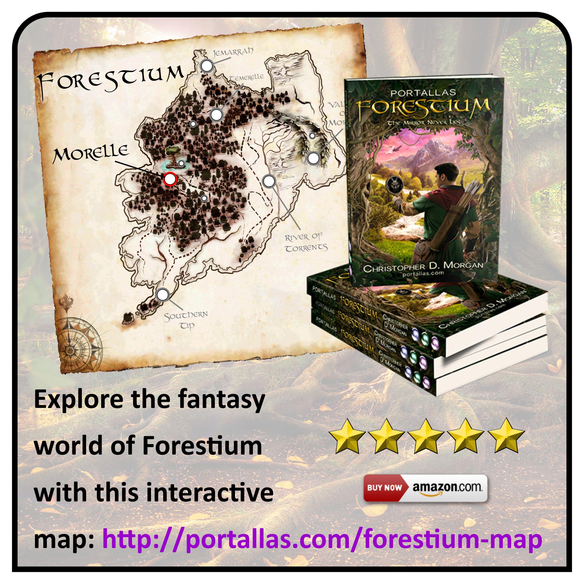 Ad graphic - Forestium interactive map