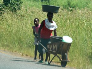 Near death experiences - Swaziland (roadside pedestrians)