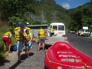 Near death experiences - Tully, Queensland (river rafting)