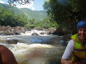 Near death experiences - Tully, Queensland, Australia (river rafting)
