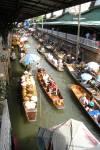 Travel photo Thailand river market